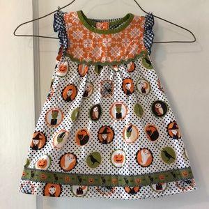 Matilda Jane dress with bloomers set